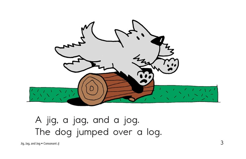 Book Preview For Jig, Jag, and Jog Page 3