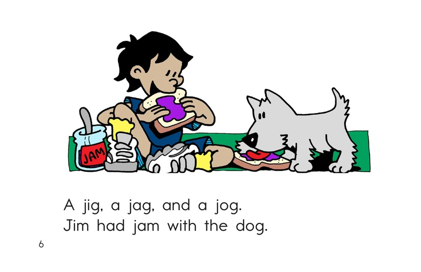Book Preview For Jig, Jag, and Jog Page 6