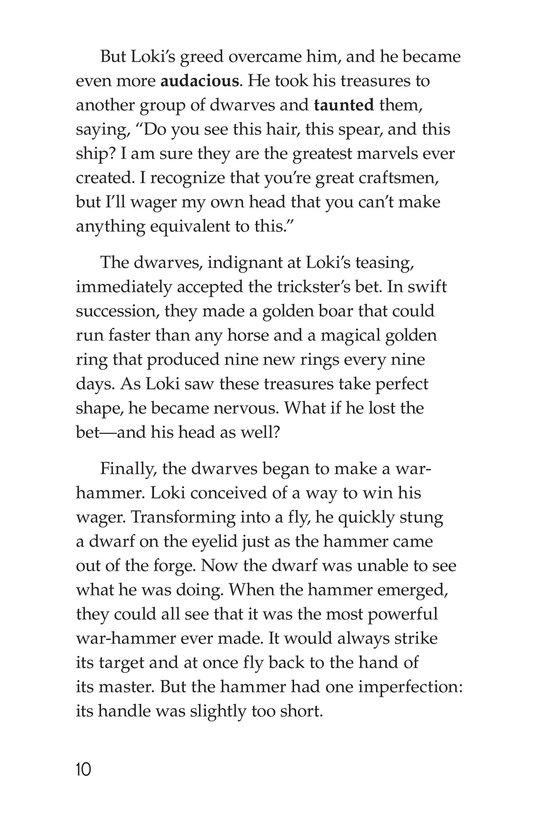 Book Preview For Stories from Asgard: Norse Myths Page 10
