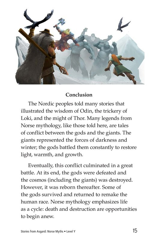 Book Preview For Stories from Asgard: Norse Myths Page 15