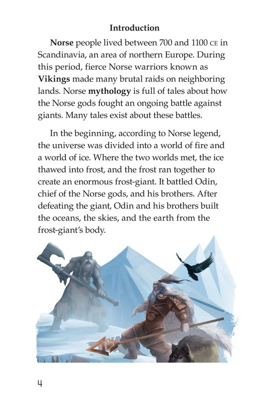 Book Preview For Stories from Asgard: Norse Myths Page 4