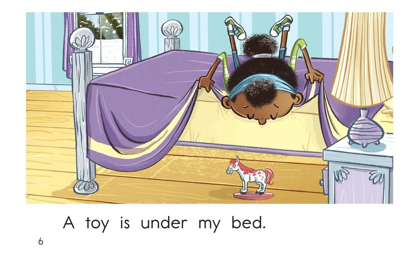 Book Preview For Under My Bed Page 6
