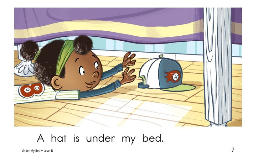 Book Preview For Under My Bed Page 7