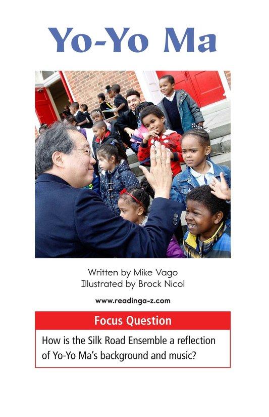 Book Preview For Yo-Yo Ma Page 1