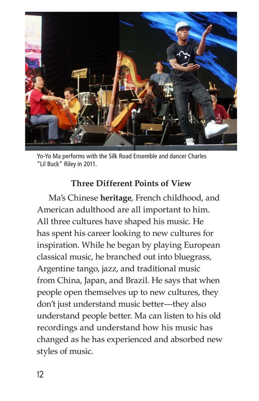Book Preview For Yo-Yo Ma Page 12