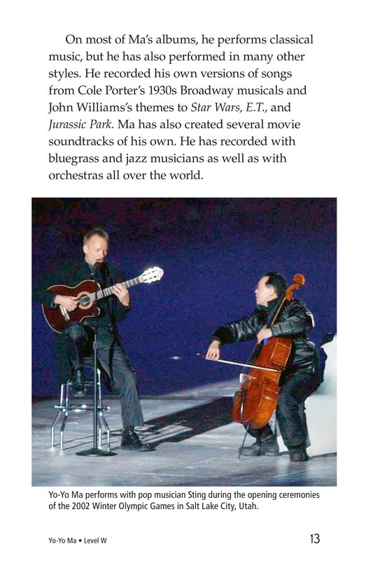 Book Preview For Yo-Yo Ma Page 13