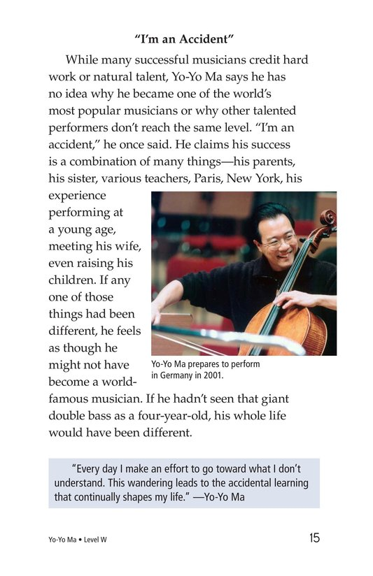 Book Preview For Yo-Yo Ma Page 15