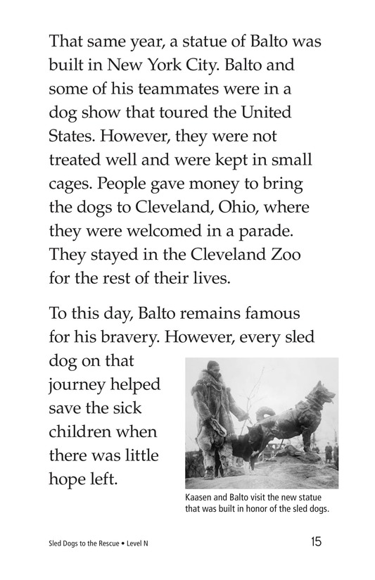 Book Preview For Sled Dogs to the Rescue Page 15