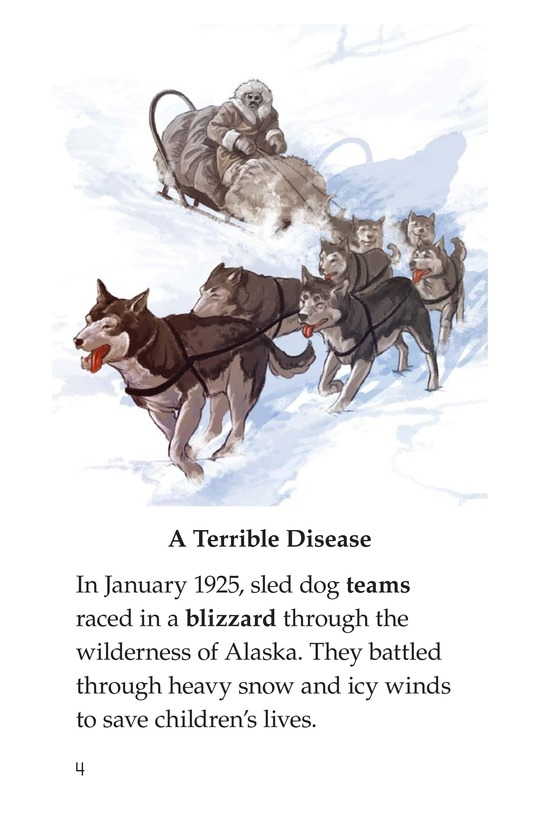 Book Preview For Sled Dogs to the Rescue Page 4