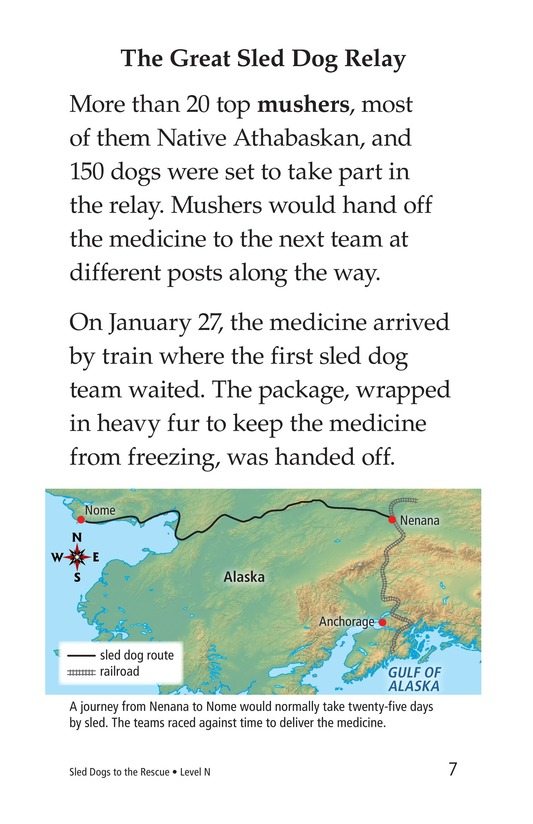 Book Preview For Sled Dogs to the Rescue Page 7