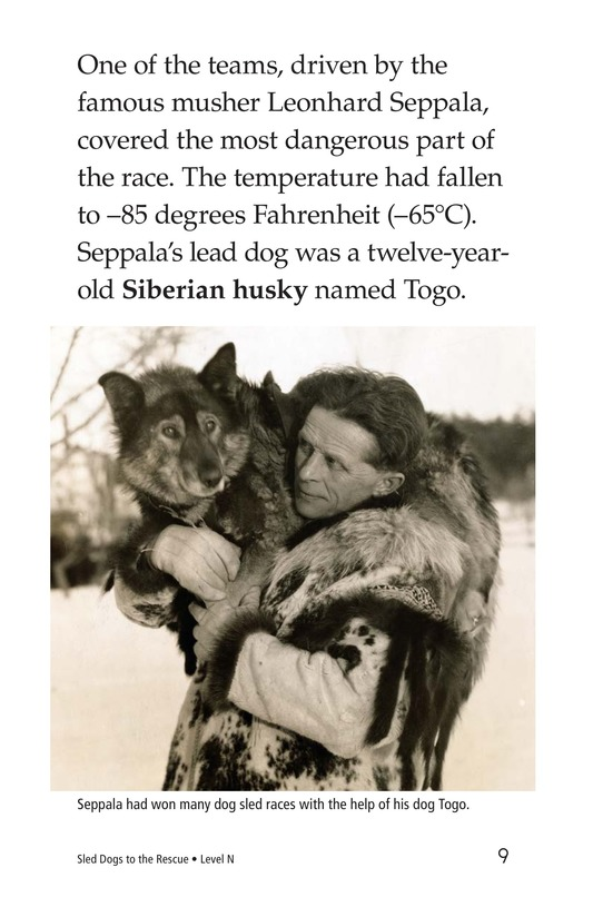 Book Preview For Sled Dogs to the Rescue Page 9