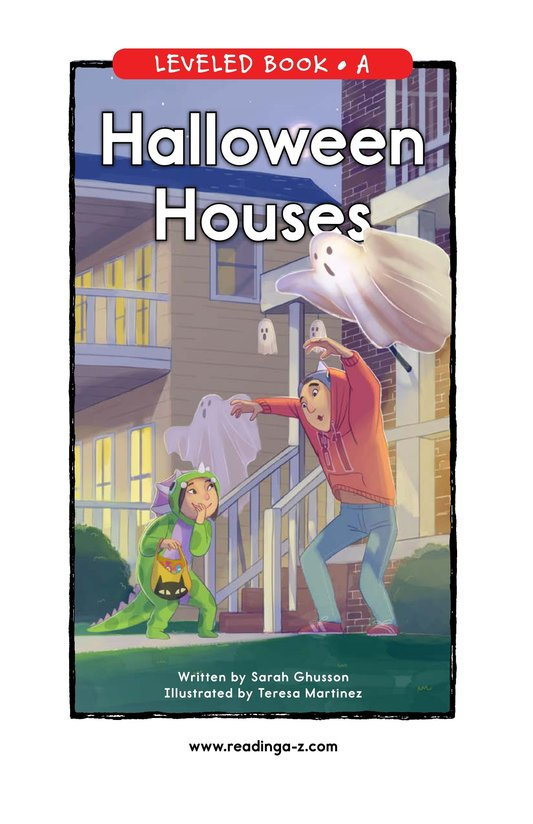 Book Preview For Halloween Houses Page 0
