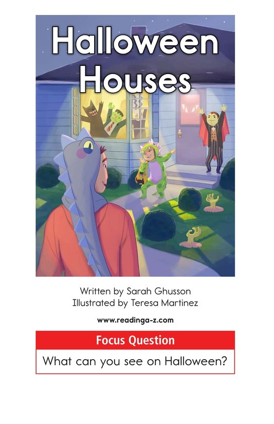 Book Preview For Halloween Houses Page 1