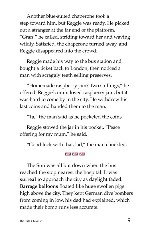 Book Preview For The Blitz Page 9