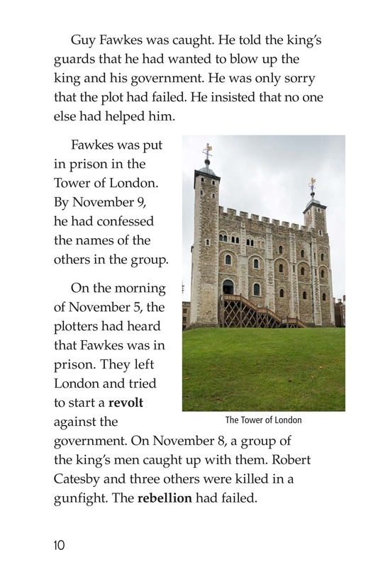 Book Preview For Guy Fawkes Day Page 10