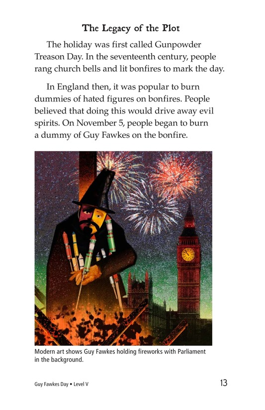 Book Preview For Guy Fawkes Day Page 13