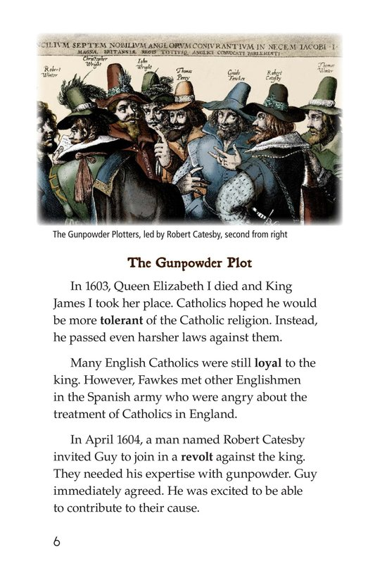 Book Preview For Guy Fawkes Day Page 6