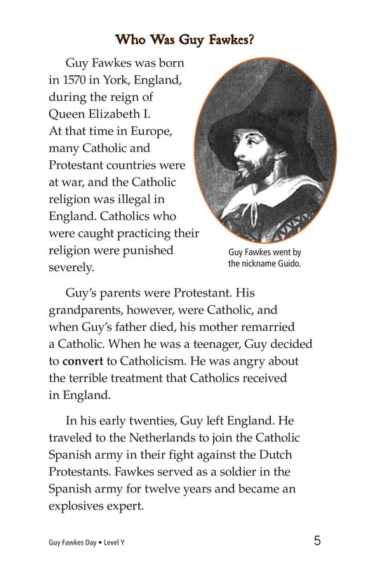 Book Preview For Guy Fawkes Day Page 5