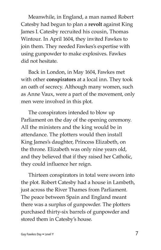 Book Preview For Guy Fawkes Day Page 7