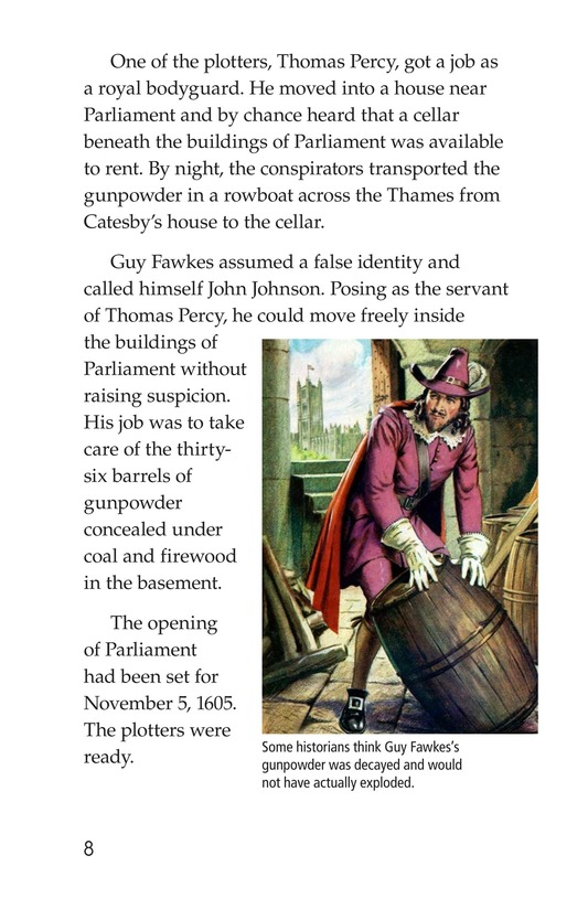 Book Preview For Guy Fawkes Day Page 8