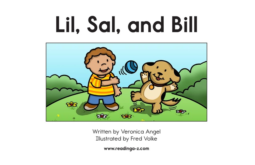 Book Preview For Lil, Sal, and Bill Page 2
