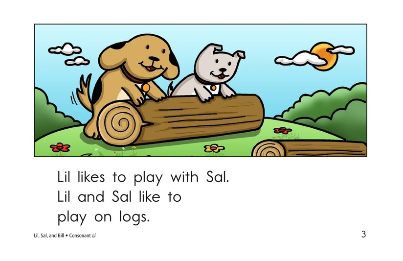 Book Preview For Lil, Sal, and Bill Page 3
