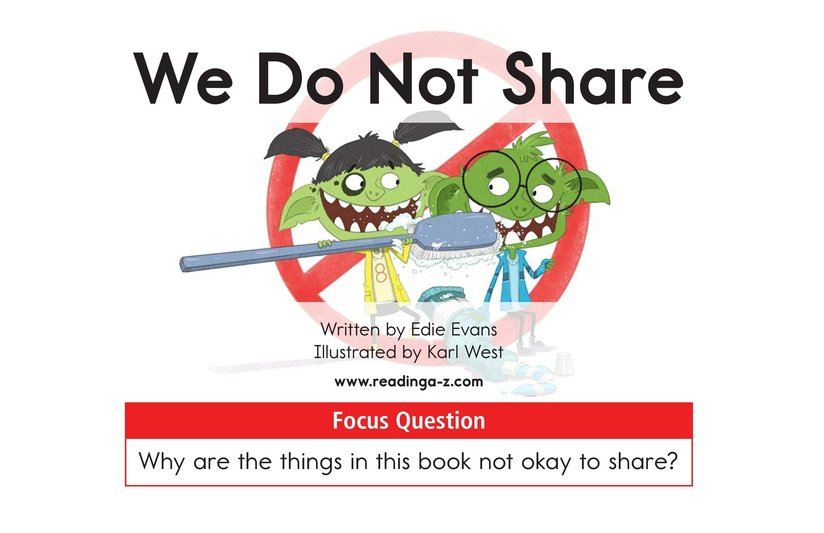 Book Preview For We Do Not Share Page 1