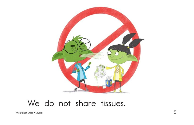 Book Preview For We Do Not Share Page 5