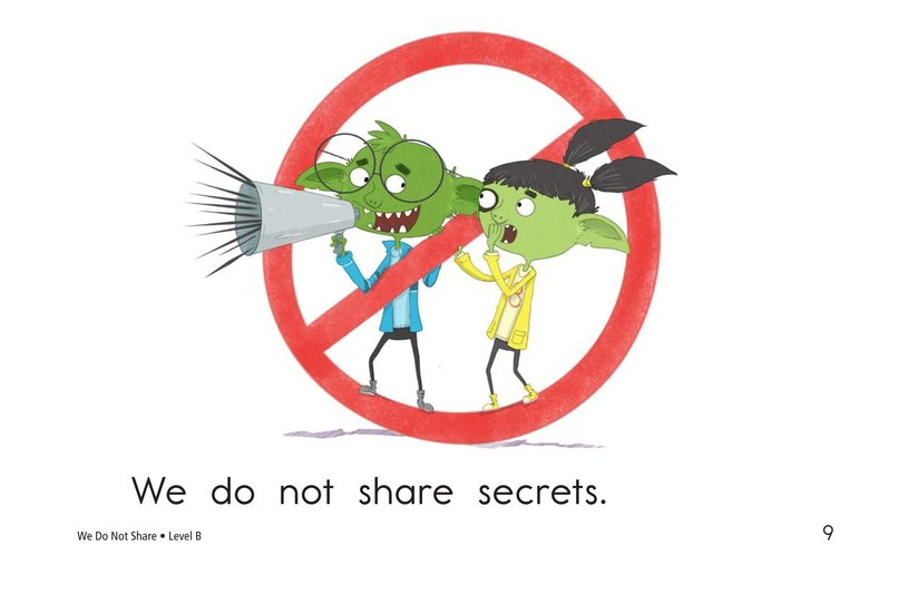 Book Preview For We Do Not Share Page 9