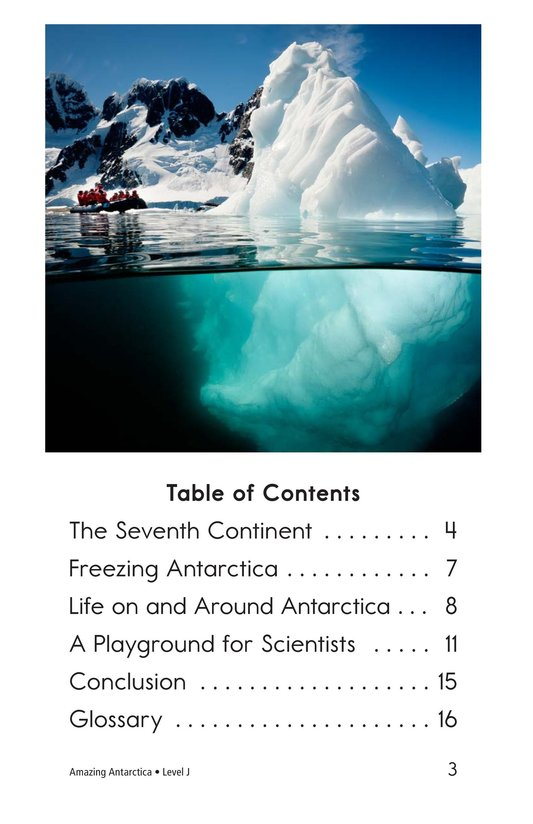 Book Preview For Amazing Antarctica Page 3