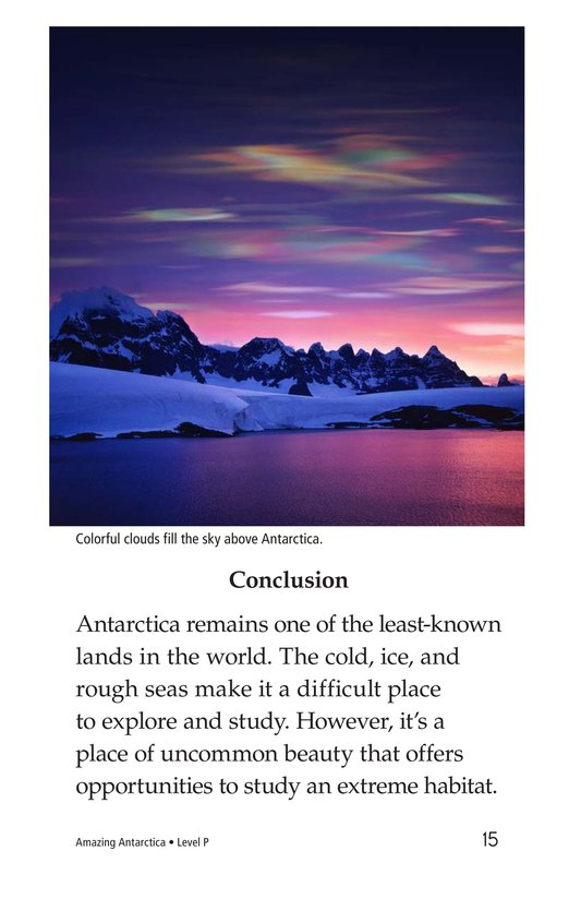 Book Preview For Amazing Antarctica Page 15