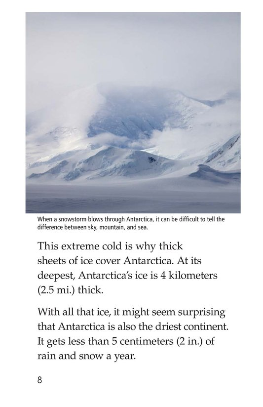 Book Preview For Amazing Antarctica Page 8
