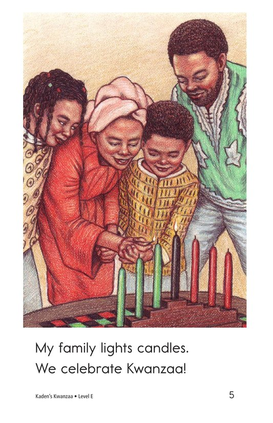 Book Preview For Kaden's Kwanzaa Page 5