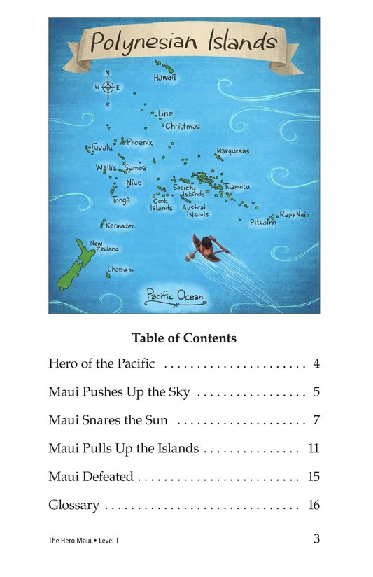 Book Preview For The Hero Maui Page 3