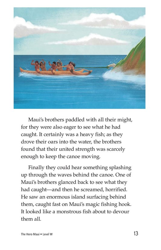 Book Preview For The Hero Maui Page 13
