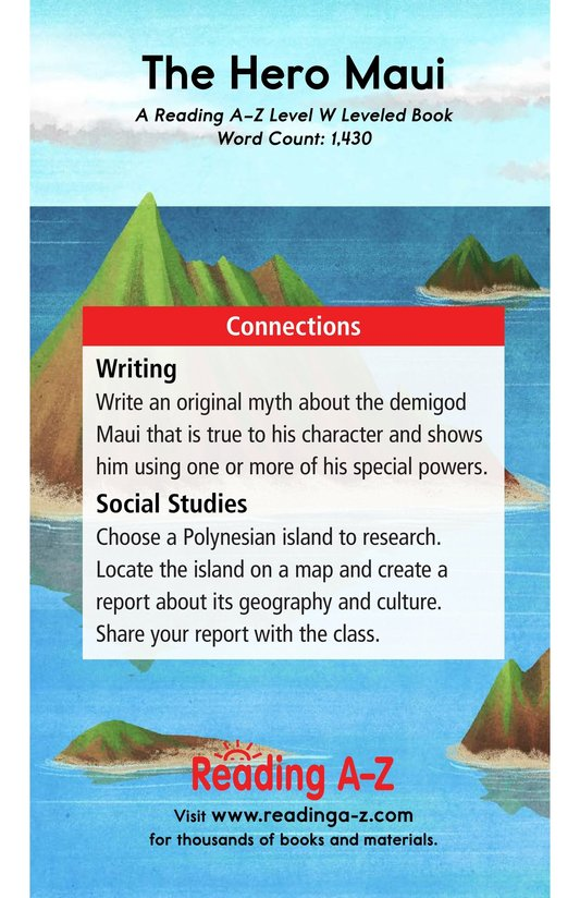 Book Preview For The Hero Maui Page 17
