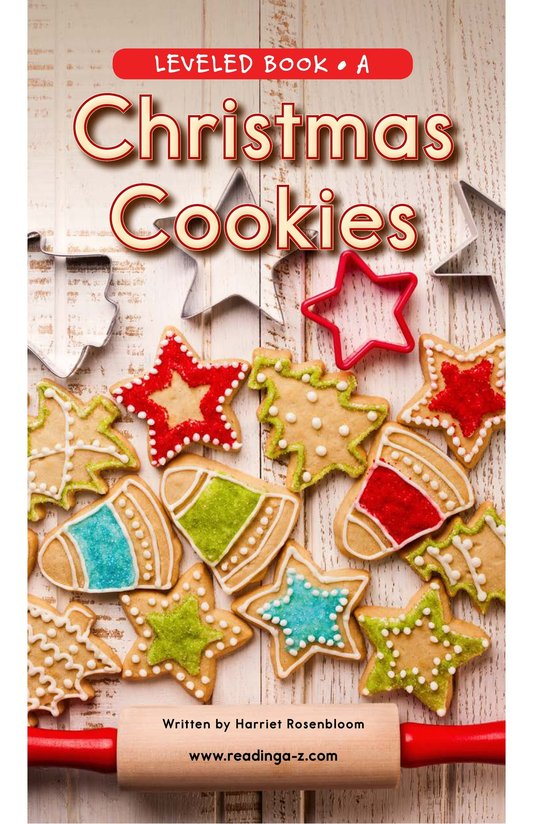 Book Preview For Christmas Cookies Page 0