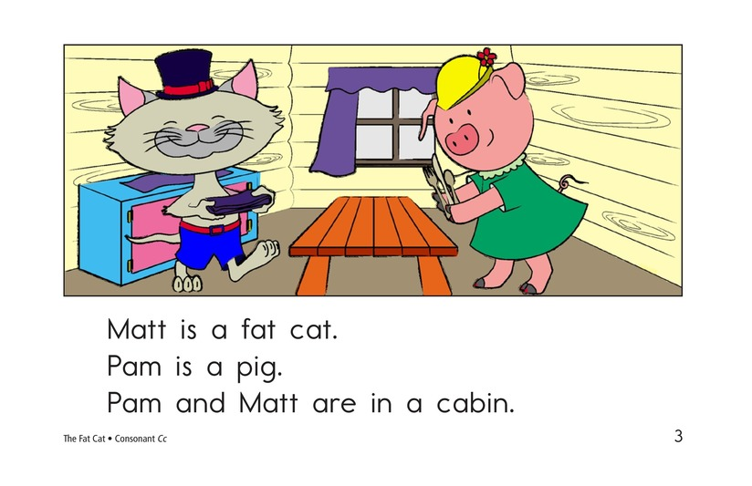 Book Preview For The Fat Cat Page 3