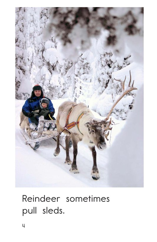 Book Preview For Reindeer Are Real Page 4