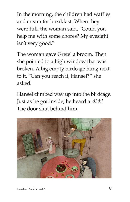 Book Preview For Hansel and Gretel Page 9