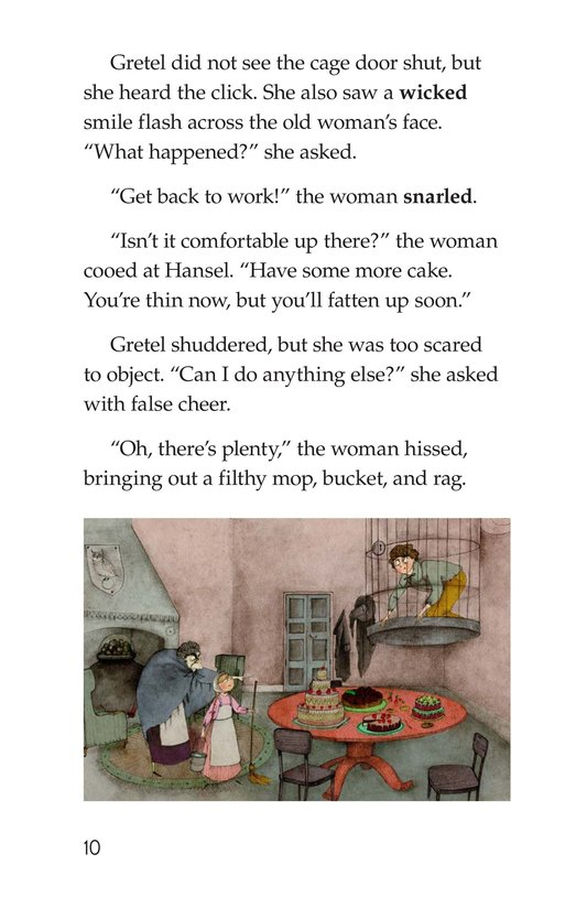 Book Preview For Hansel and Gretel Page 10
