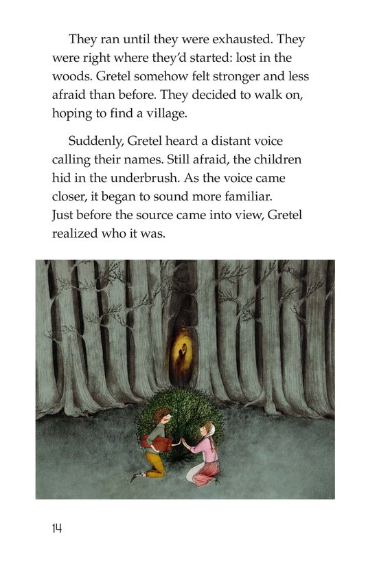 Book Preview For Hansel and Gretel Page 14