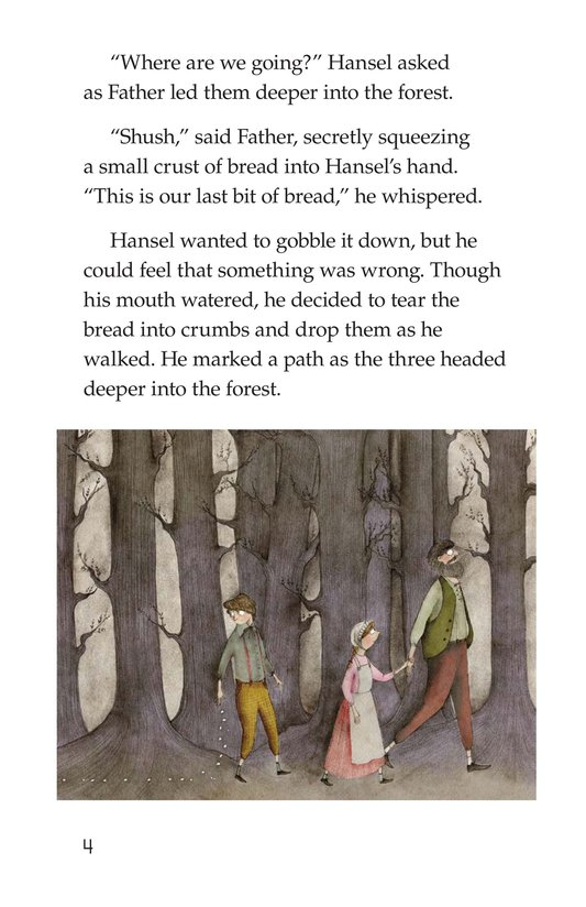 Book Preview For Hansel and Gretel Page 4