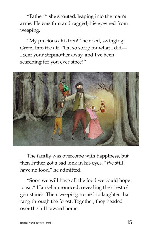 Book Preview For Hansel and Gretel Page 15