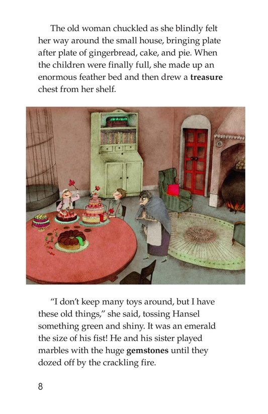Book Preview For Hansel and Gretel Page 8