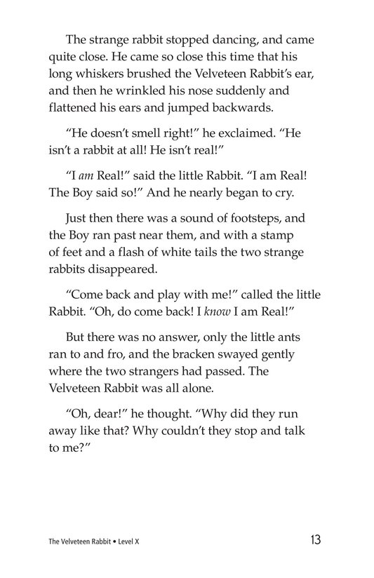 Book Preview For The Velveteen Rabbit Page 13