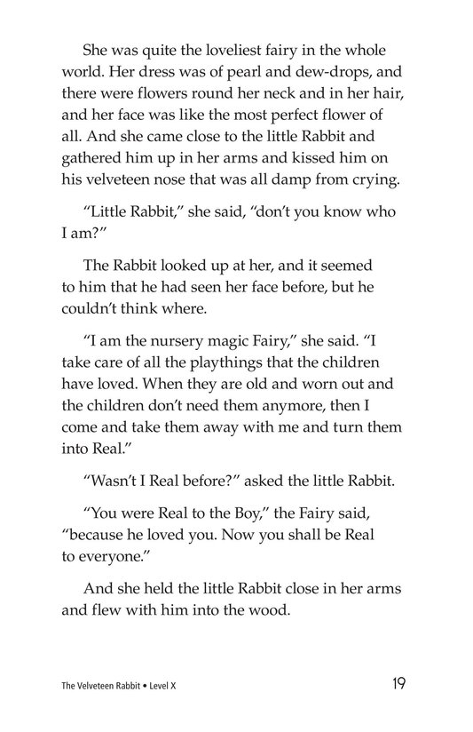 Book Preview For The Velveteen Rabbit Page 19