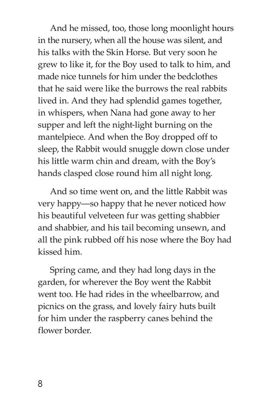 Book Preview For The Velveteen Rabbit Page 8