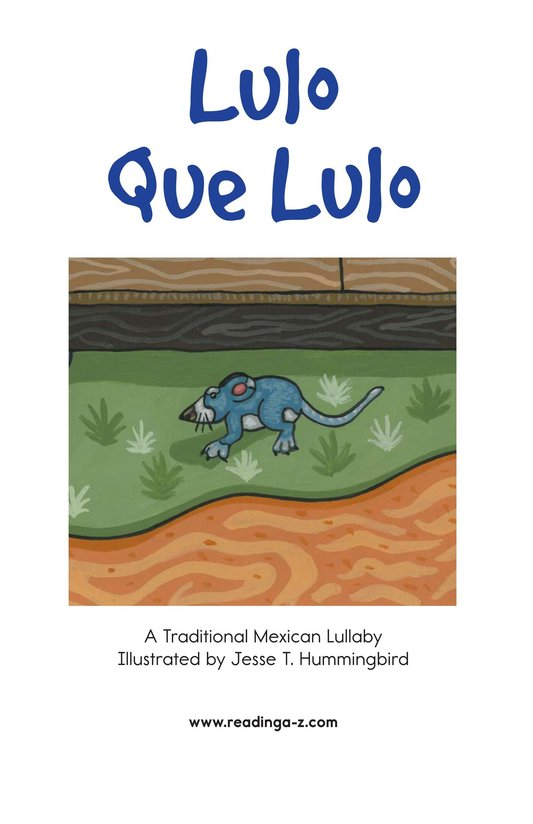 Book Preview For Lulo Que Lulo Page 2