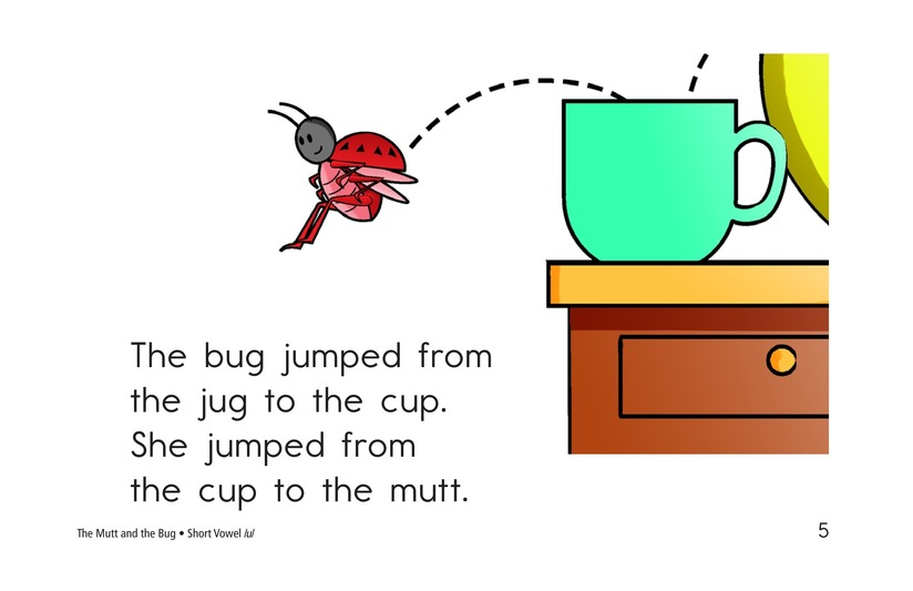 Book Preview For The Mutt and the Bug Page 5